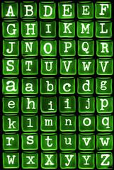 Gel alphabet