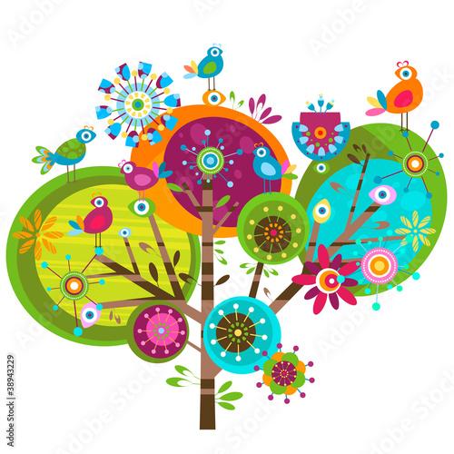 """""""whimsy flowers"""" Stockfotos und lizenzfreie Vektoren auf ..."""