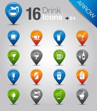 Arrow - Drink Icons