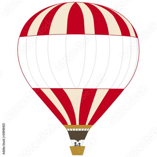 hei luftballon beige und rot stockfotos und lizenzfreie vektoren auf bild 38948421. Black Bedroom Furniture Sets. Home Design Ideas