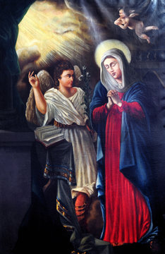 Annunciation - the Virgin Mary