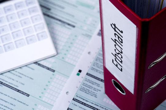 Steuererklärung zur Erbschaft