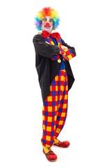 Proud clown standing