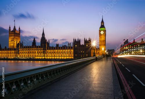 Wall mural Big Ben Londres Angleterre