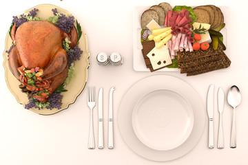 thanksgiving turkey diner