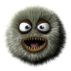 Poster Doux monstres beast