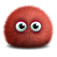cute red bacterium