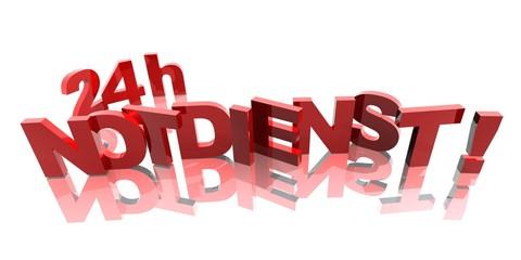 3D Buchstaben - 24h NOTDIENST