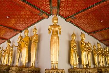 Golden Buddha statue , Thailand