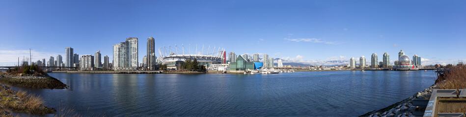 false creek panorama in Vancouver,BC