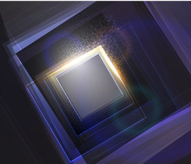 Abstract vector shiny technology background