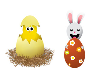 Vector illustrations for Easter