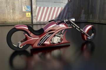 Keuken foto achterwand Motorfiets MotoArrow