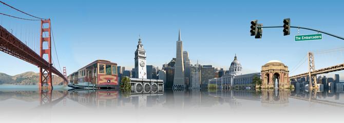 Ingelijste posters San Francisco San Francisco