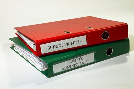 compte administratif et budget primitif