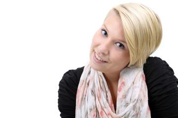 lächelnde junge Dame