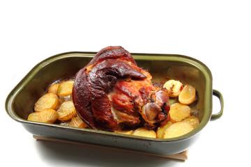 roasted pork knuckle