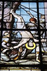 Photo sur Plexiglas Vitrail Paris08 - Église Saint-Philippe-du-Roule
