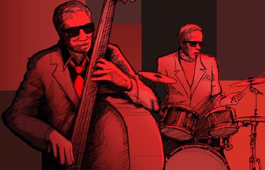 Etiqueta Engomada - jazz band