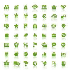 Green Web Icons