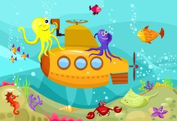Papiers peints Sous-marin submarine