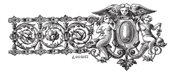 The drawing of first bracelet made by Francois-Desire Froment vi