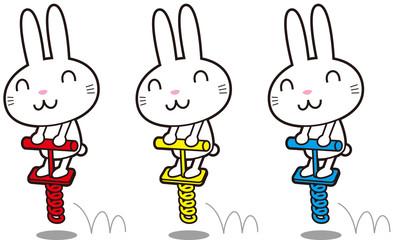 ホッピングウサギ