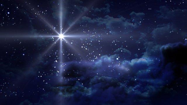 blue Starry Night