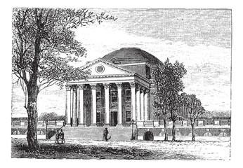 University of Virginia, in Charlottesville, Virginia, USA, vinta