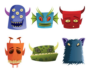 Deurstickers Schepselen Monsters