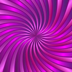 Pink spiral vortex vector
