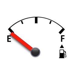 ベクター、ガソリンのメーター