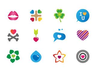 0108 Love Icons
