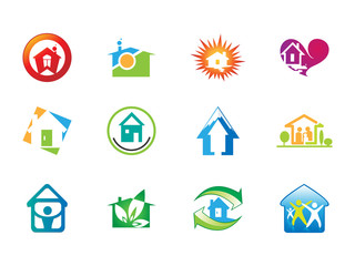 0116 Abstract House Icons 1