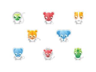 0704 Cute Animal Icons