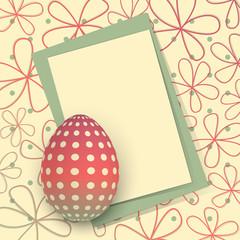 Biglietto Pasquale - Happy Easter Card