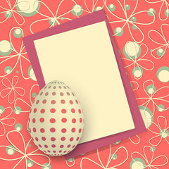 Biglietto Pasquale - Happy Easter Card