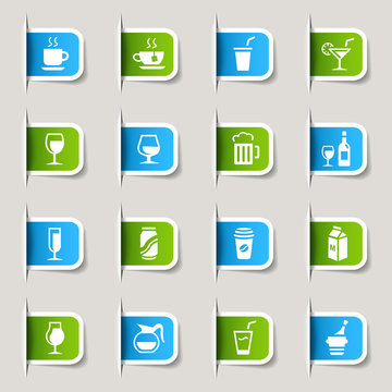 Label - Drink Icons