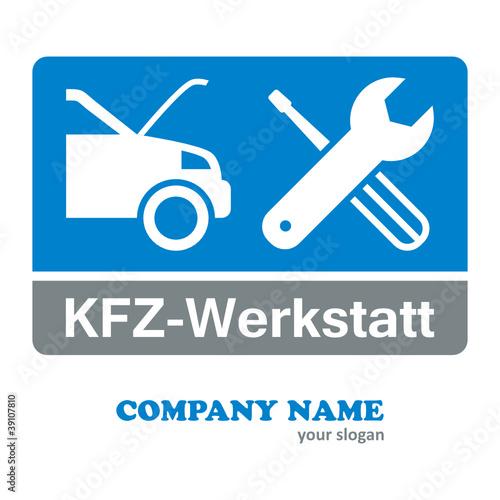 kfz werkstatt firmenlogo stockfotos und lizenzfreie vektoren auf bild 39107810. Black Bedroom Furniture Sets. Home Design Ideas