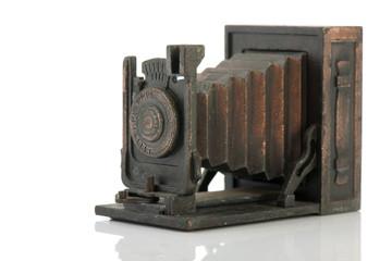 Antique photo camera