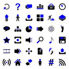 36 Web Icons