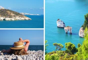 peninsula Gargano - collage