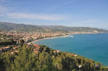 das bekannte Seebad Diano Marina in Ligurien