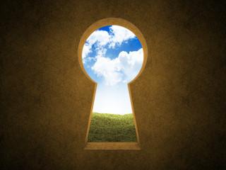 Landscape keyhole