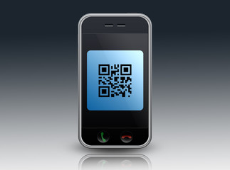 """Smartphone """"QR Code"""""""