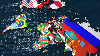Search photos by rolling spider tv 025 libya world map with flags as countries gumiabroncs Images