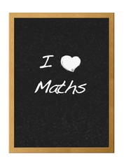 Love maths.