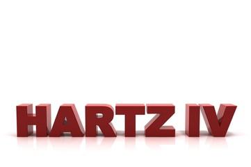 Schriftzug HARTZ IV