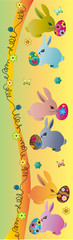 bookmark with bunny