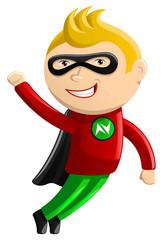 Poster Superheroes Superhero Mascot - Nitro Boy